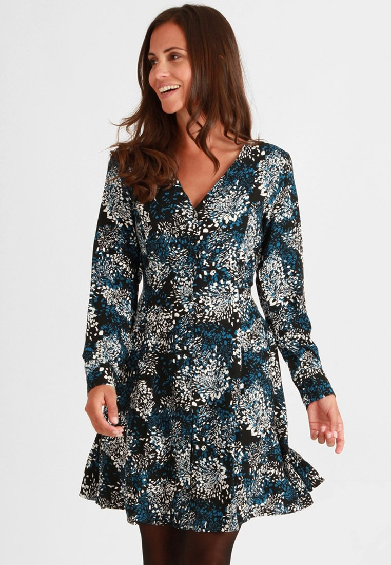 Mavi - Day dress - dutch blue