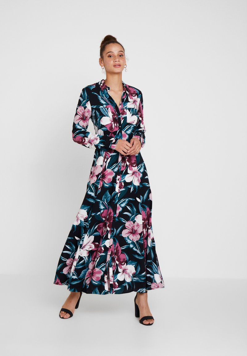 Mavi - PRINTED DRESS - Maxi-jurk - black