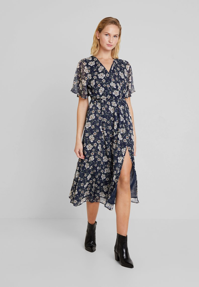 Mavi - PRINTED LONG DRESS - Maxi dress - navy blazer