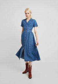 Mavi - DRESS - Sukienka jeansowa - denim - 0