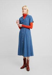 Mavi - DRESS - Sukienka jeansowa - denim - 2