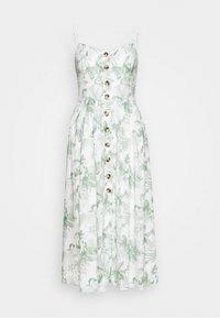 Mavi - BUTTON DRESS - Kjole - antique white - 1