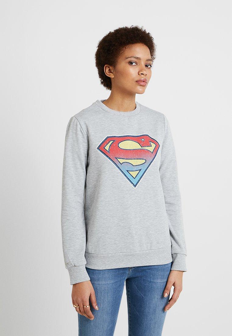 Mavi - SUPERMAN - Sweatshirts - grey melange