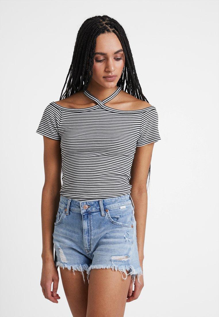 Mavi - T-shirt imprimé - black