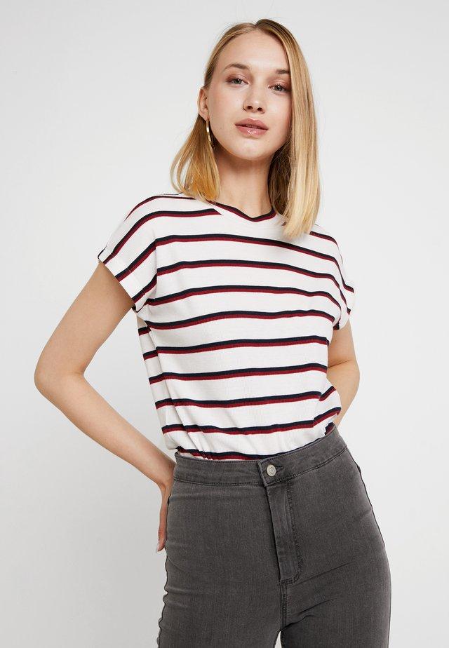 STRIPE - T-Shirt print - antique white