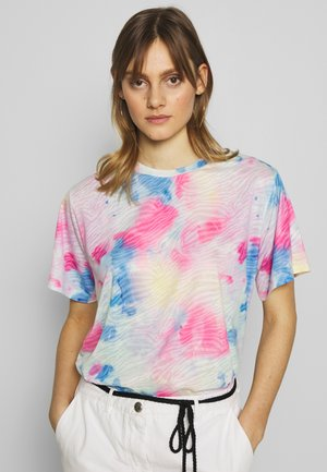 SHORT SLEEVE - T-shirt z nadrukiem - pink lemonade