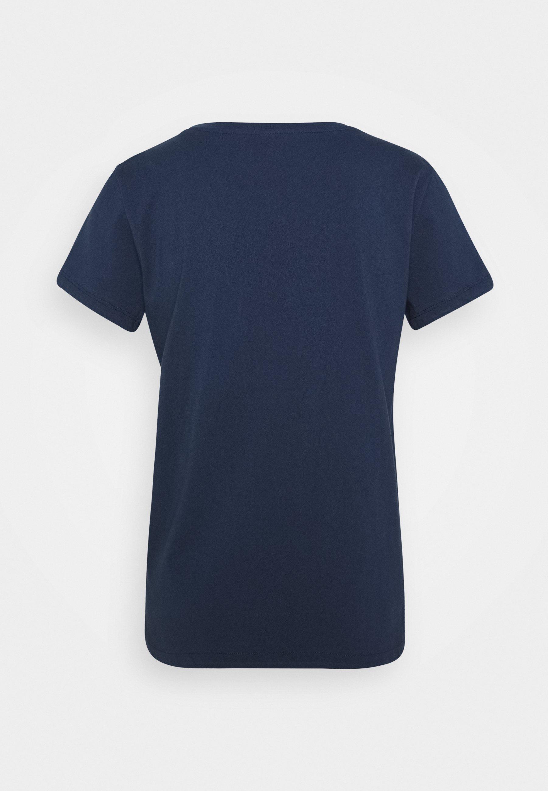 Mavi LOVE EARTH - T-shirt con stampa - dress blue pRySZKqI