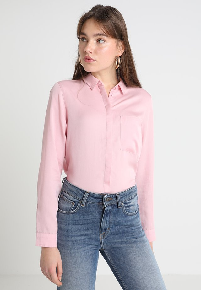 LONG SLEEVE - Button-down blouse - pink nectar