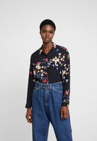 Mavi - PRINTED - Button-down blouse - black - 0