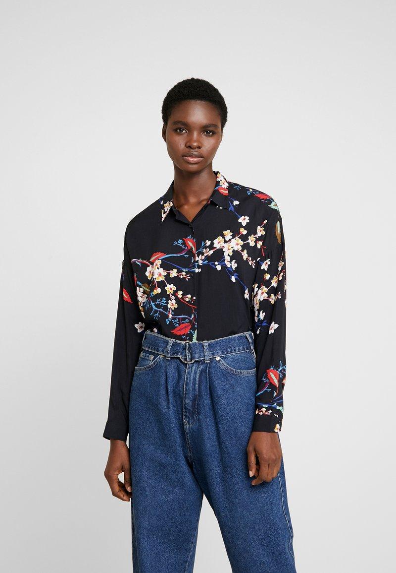 Mavi - PRINTED - Button-down blouse - black
