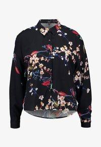 Mavi - PRINTED - Button-down blouse - black - 4
