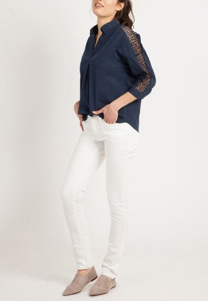 LONG SLEEVE - Blouse - dark blue