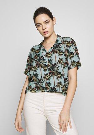 PRINTED - Button-down blouse - lichen