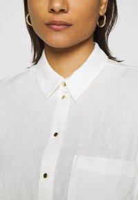 Mavi - Button-down blouse - antique white - 5