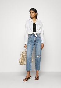 Mavi - Button-down blouse - antique white - 1