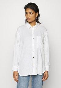 Mavi - Button-down blouse - antique white - 0