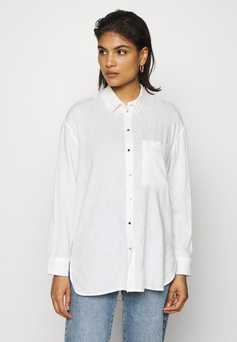 Mavi - Button-down blouse - antique white