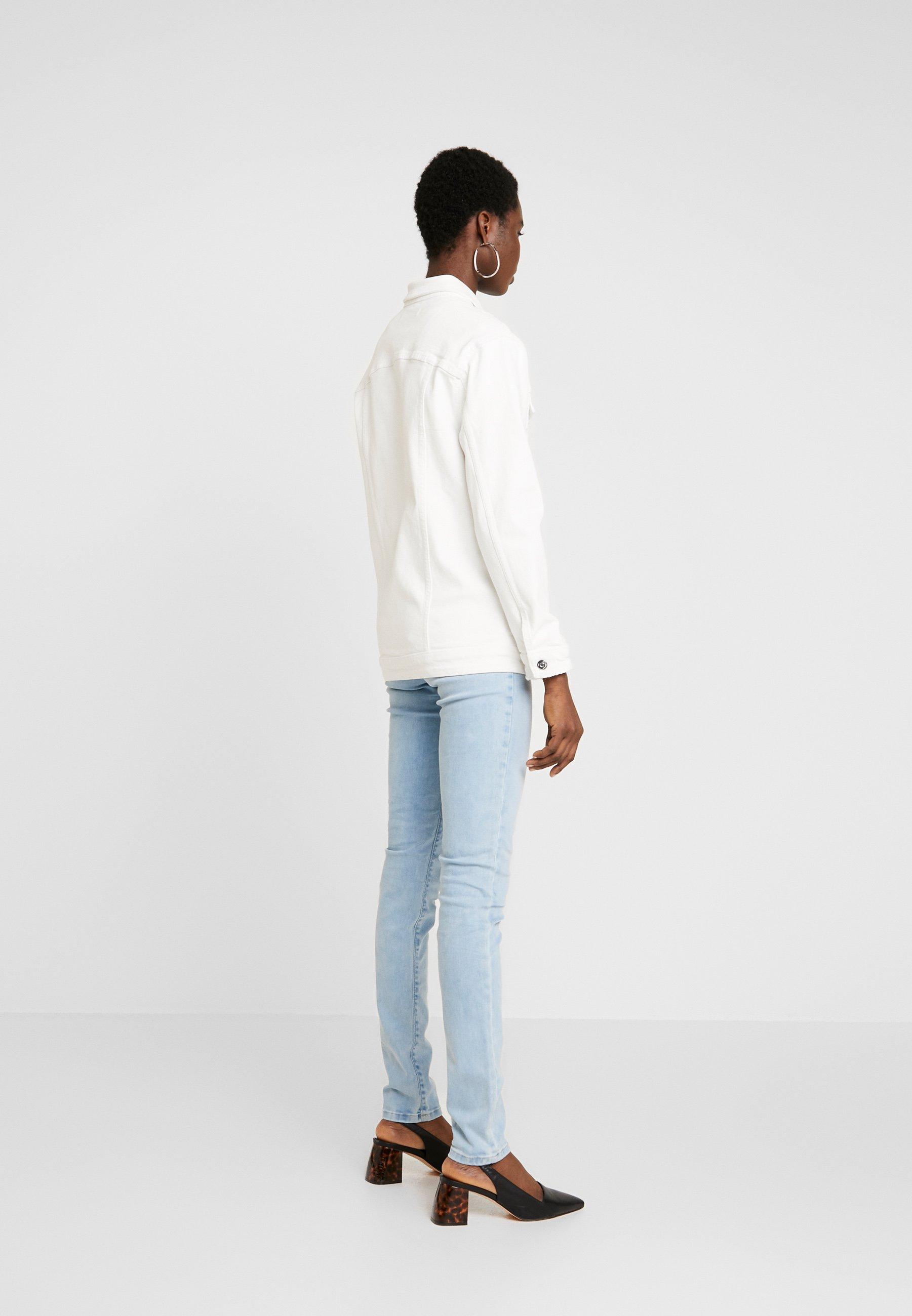 Mavi Jill - Giacca Di Jeans White Ripped TeLdd