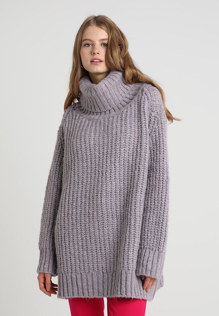 Mavi - TURTLE NECK  - Strickpullover - lavander mist