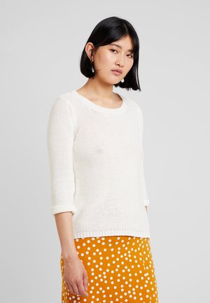 LONG SLEEVE  - Strickpullover - antique white