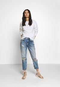 Mavi - EMBROIDERY - Sweter - antique white - 1
