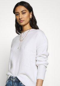 Mavi - EMBROIDERY - Sweter - antique white - 3