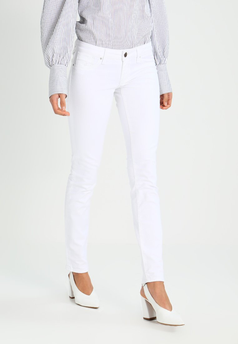 Mavi - LINDY - Slim fit jeans - white