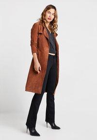Mavi - BELLA MID RISE - Bootcut jeans - double black - 1