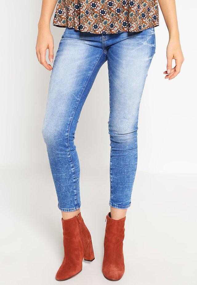 ADRINA ANKLE - Jeans Skinny - true blue barcelona