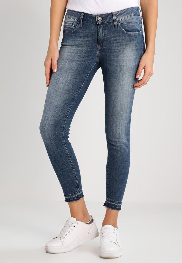 Mavi - ADRIANA ANKLE - Jeans Skinny Fit - foogy stretch