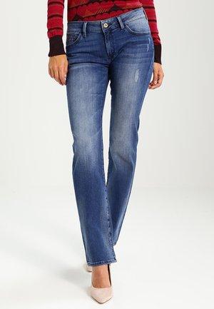OLIVIA - Jeans Straight Leg - mid used glam