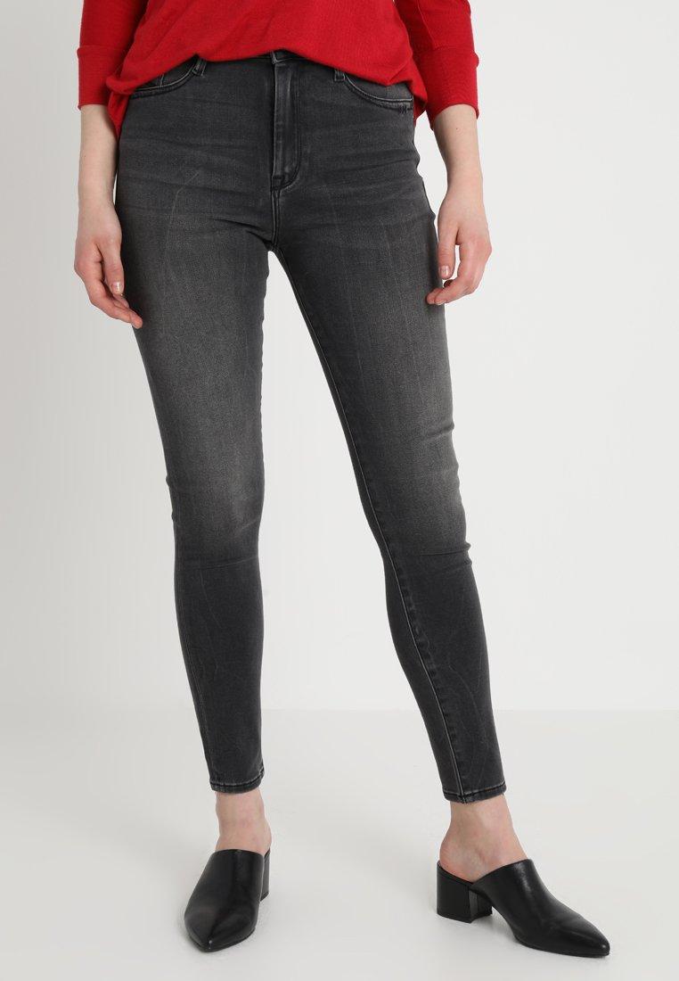 Mavi - LUCY - Jeans Skinny Fit - dark smoke stretch