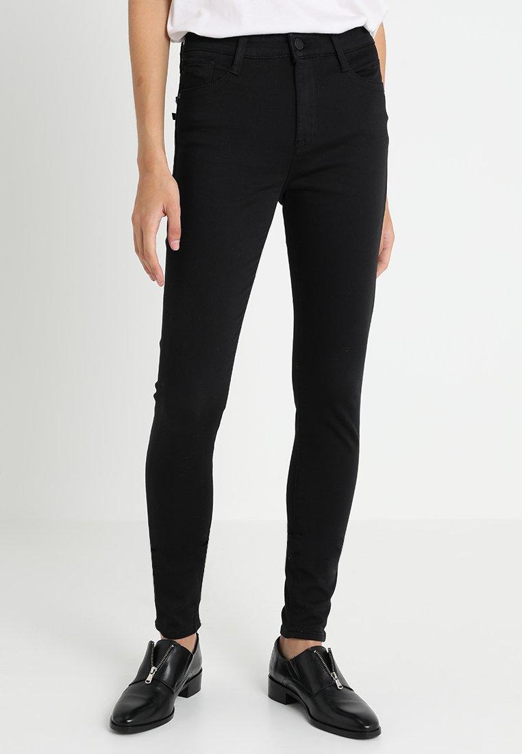 Mavi - LUCY - Jeans Skinny Fit - double black milan