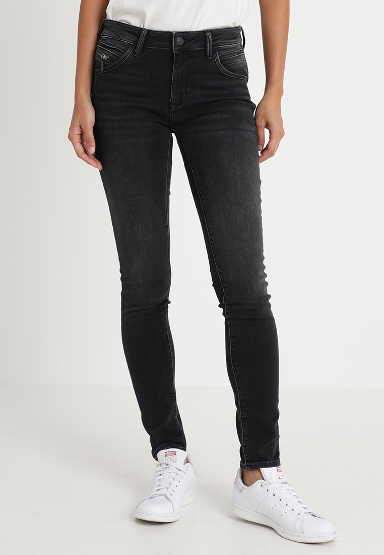 Mavi - ADRIANA - Jeans Skinny Fit - smoke brushed