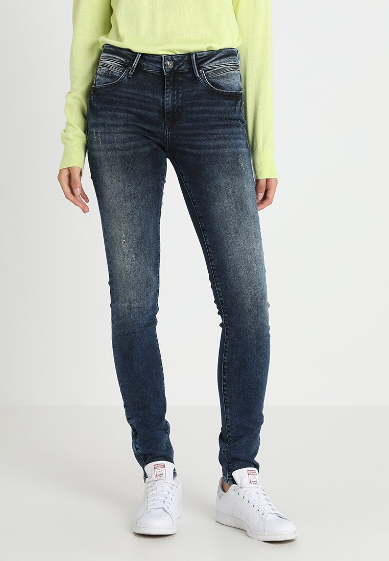 Mavi - ADRIANA ZIP - Jeans Skinny Fit - ink blue glam