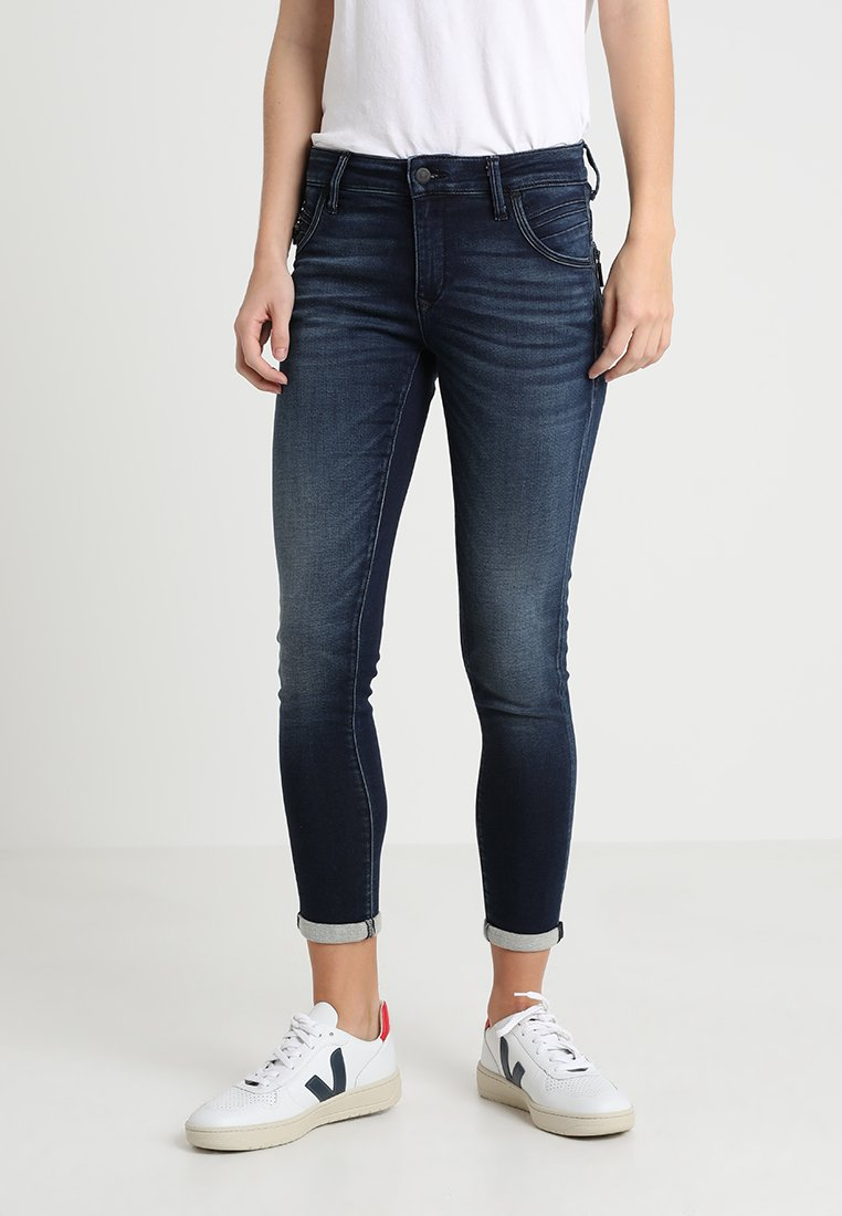Mavi - LEXY - Jeans Skinny Fit - dark brushed sporty