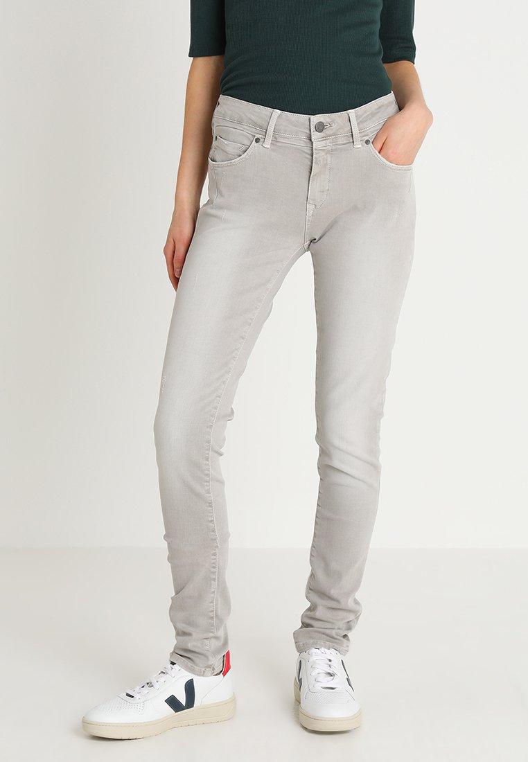 Mavi - ADRIANA - Jeans Skinny Fit - grey