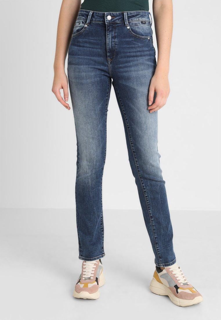 Mavi - DARIA - Straight leg jeans - deep brushed glam