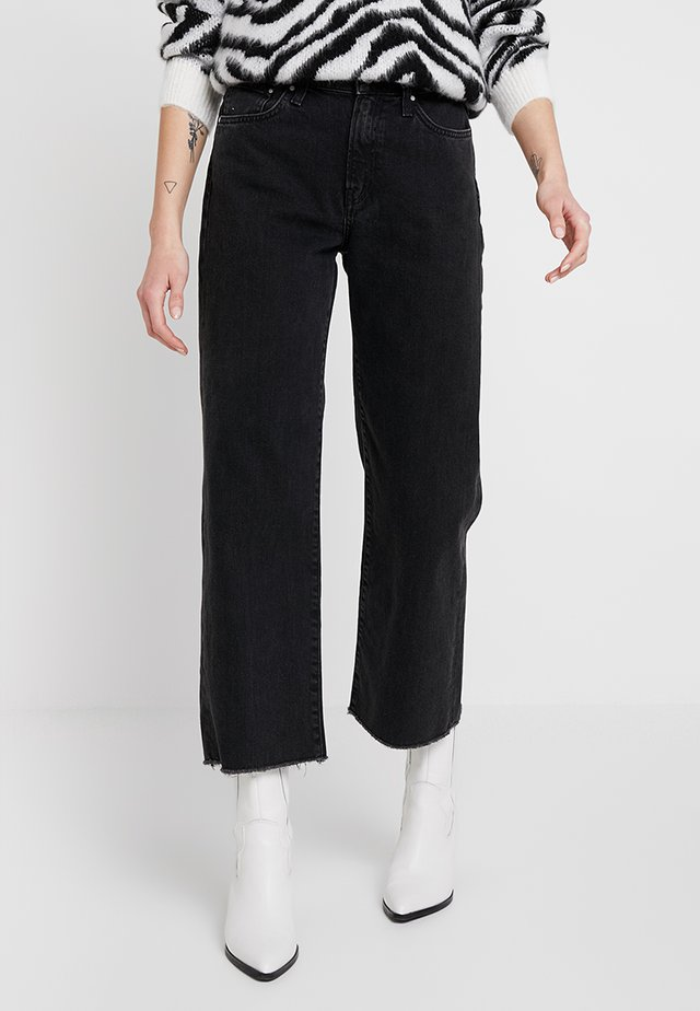 ROMEE - Straight leg jeans - black denim