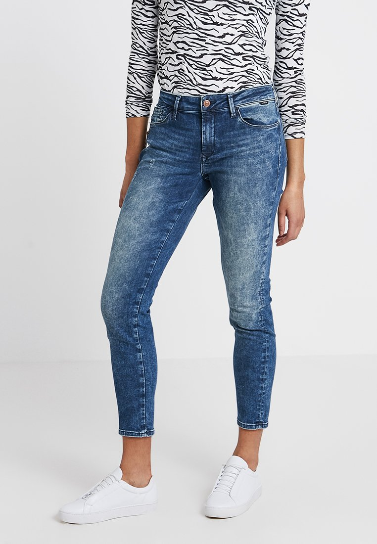 Mavi - ADRIANA ANKLE - Jeans Skinny Fit - random shaded glam