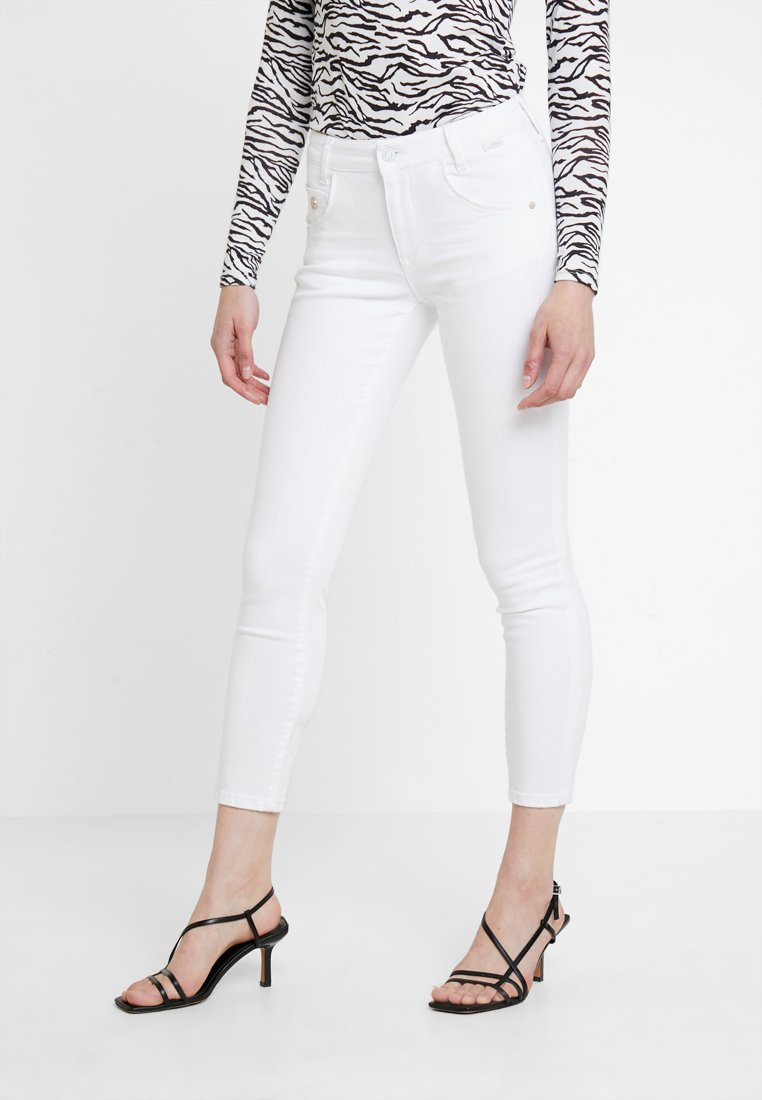 Mavi - ADRIANA ANKLE - Jeans Skinny Fit - white washed denim