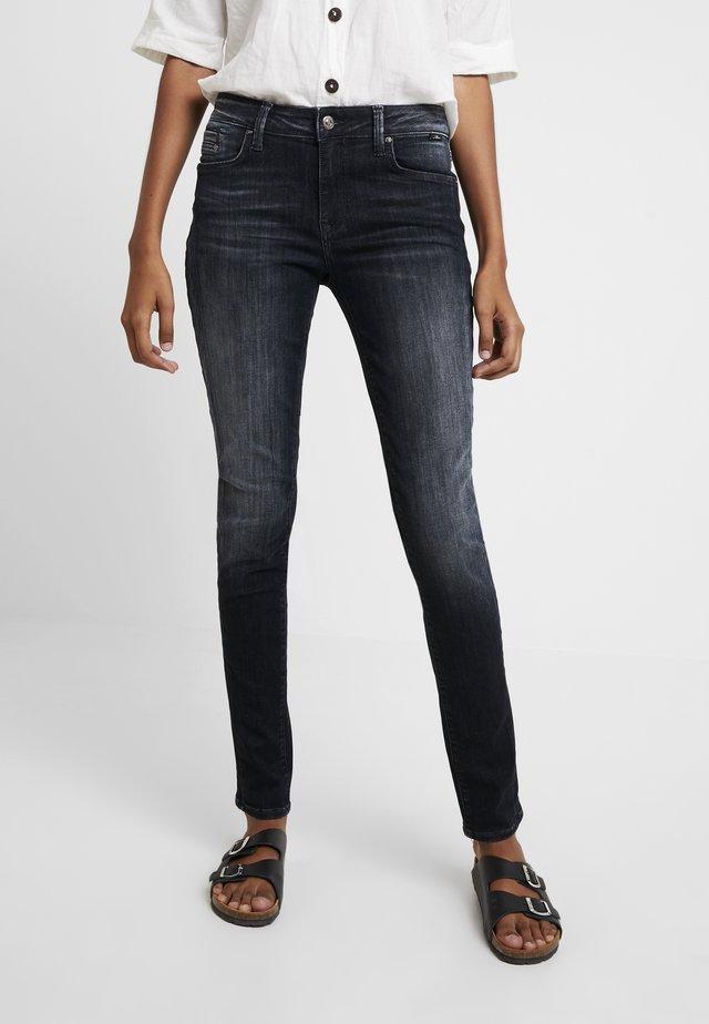 ADRIANA - Jeans Skinny Fit - deep foggy glam