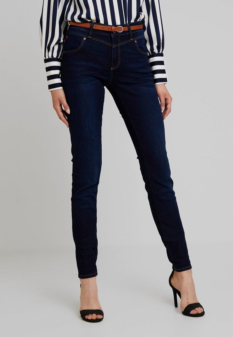 Mavi - ADRIANA - Jeans Skinny Fit - dark blue denim