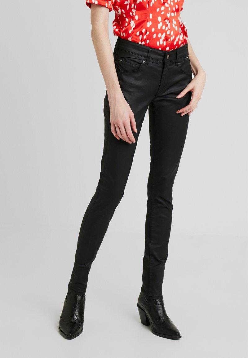 Mavi - ADRIANA - Jeans Skinny Fit - black jeather