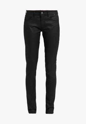 ADRIANA - Jeans Skinny Fit - black jeather