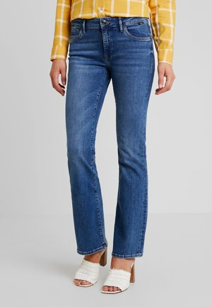 MEL - Flared Jeans - indigo londo
