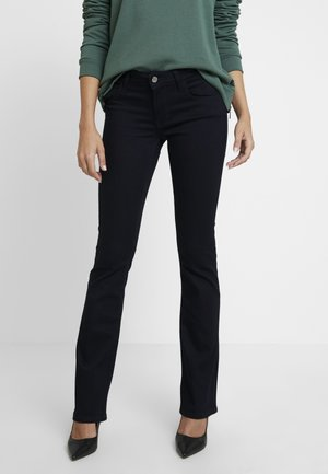 BELLA - Bootcut jeans - rinse retro denim