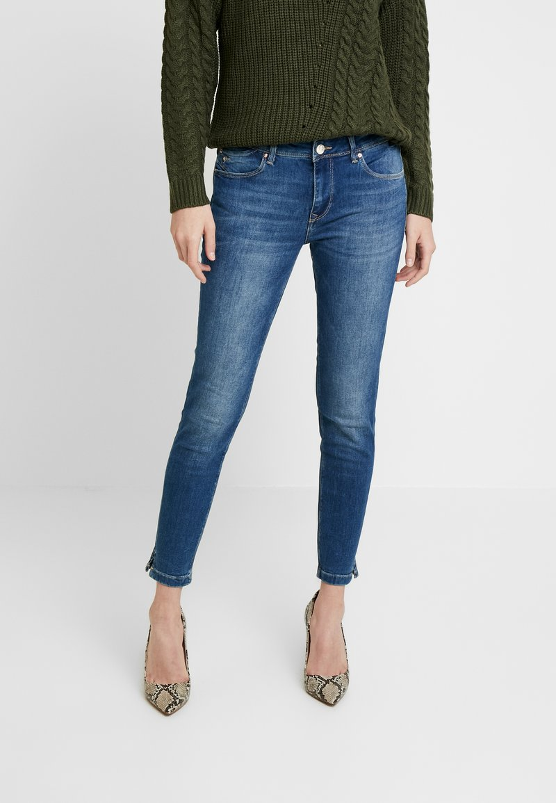 Mavi - ADRIANA ANKLE - Jeans Skinny Fit - moon washed