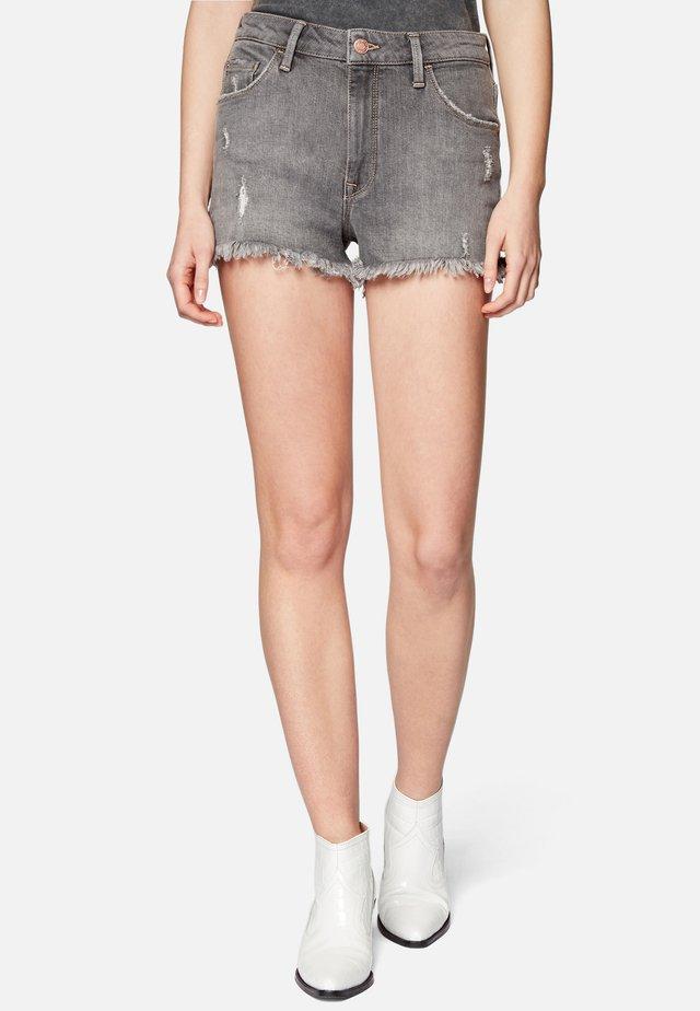 ROSIE - Denim shorts - mid grey london str