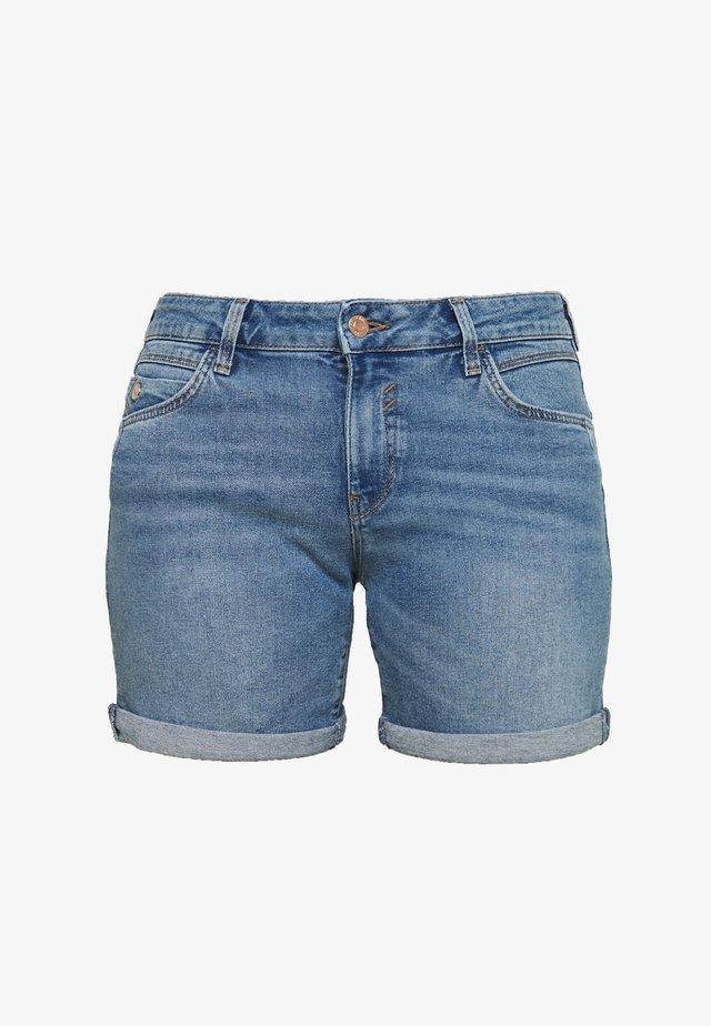 PIXIE - Denim shorts - mid brush milan